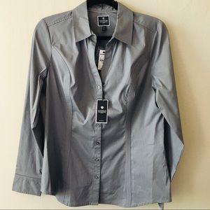 NWT Express Essential Original Button Down Shirt